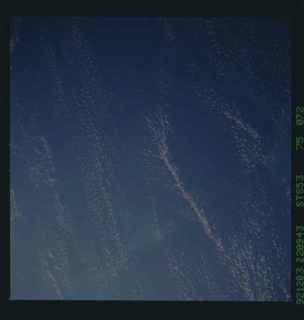 STS053-75-072 - STS-053 - Earth observations