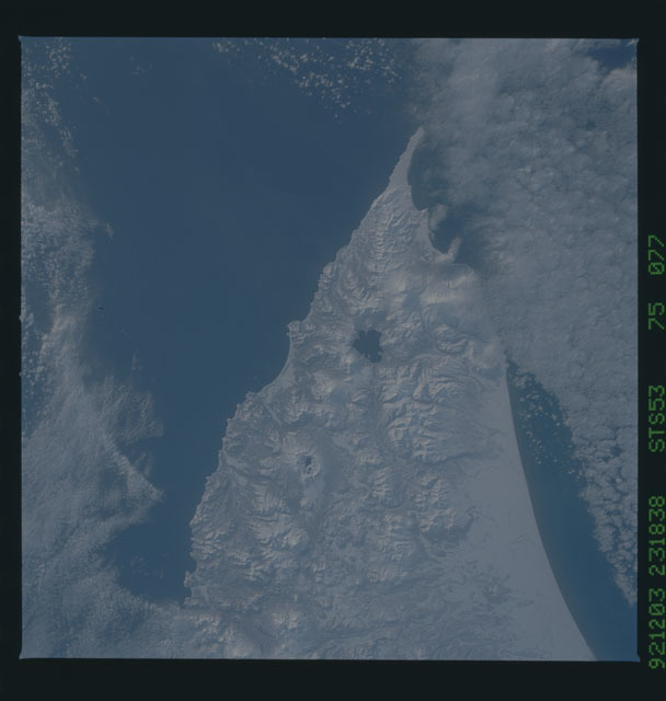 STS053-75-077 - STS-053 - Earth observations