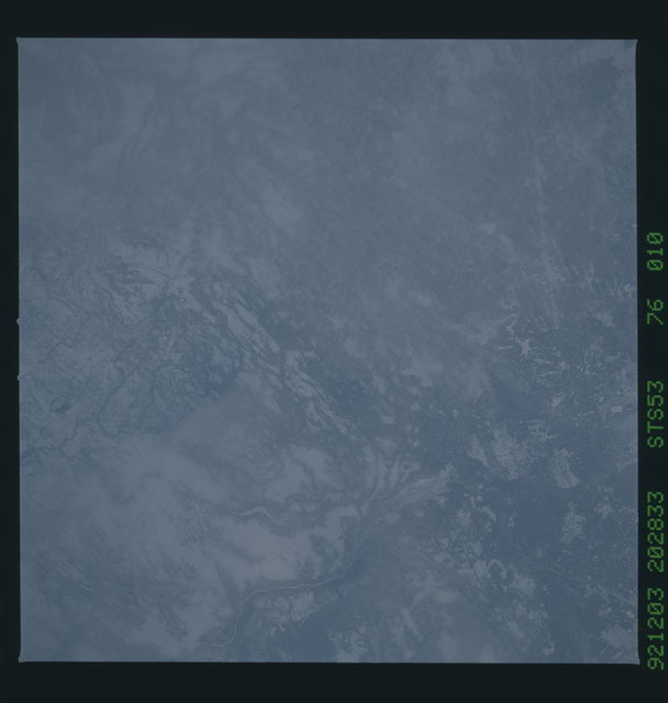 STS053-76-010 - STS-053 - Earth observations