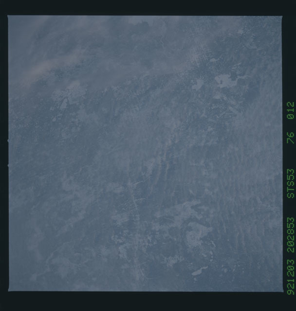 STS053-76-012 - STS-053 - Earth observations