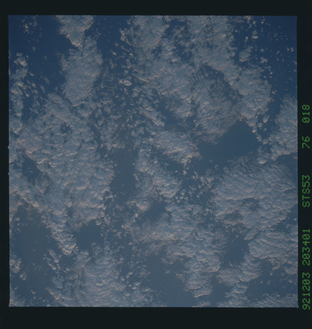STS053-76-018 - STS-053 - Earth observations