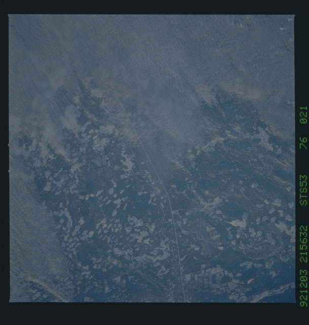 STS053-76-021 - STS-053 - Earth observations