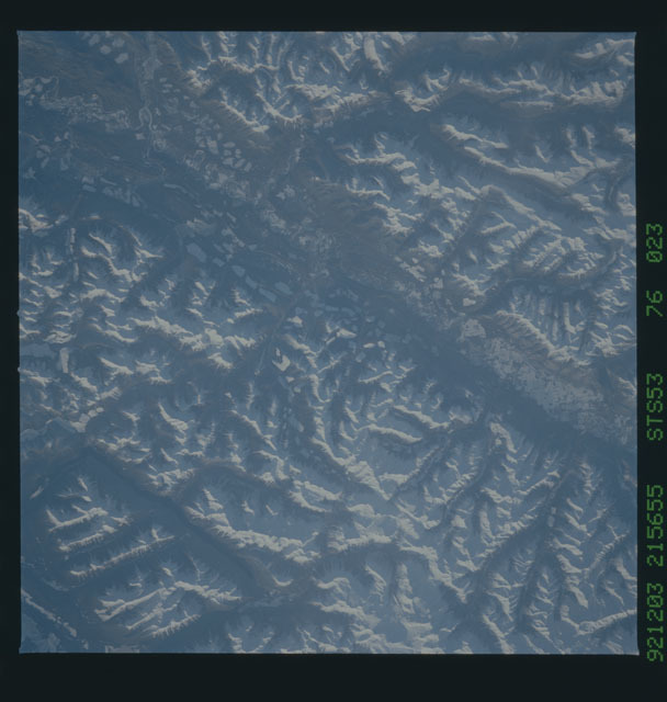 STS053-76-023 - STS-053 - Earth observations