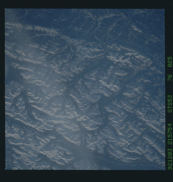 STS053-76-025 - STS-053 - Earth observations