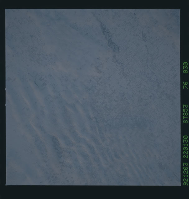 STS053-76-030 - STS-053 - Earth observations
