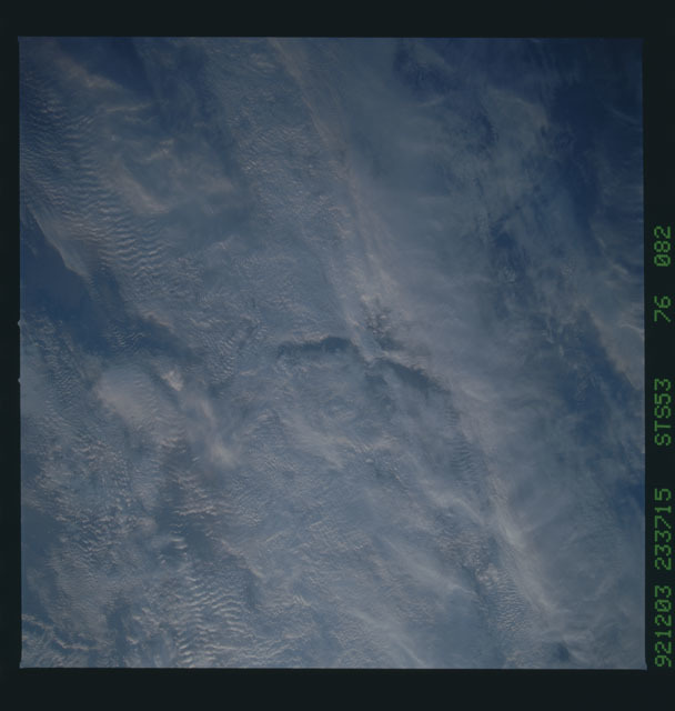 STS053-76-082 - STS-053 - Earth observations