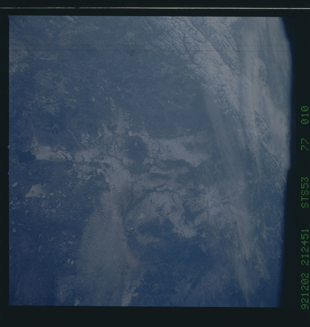 STS053-77-010 - STS-053 - Earth observations