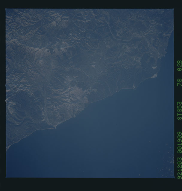 STS053-78-028 - STS-053 - Earth observations
