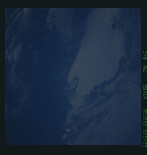 STS053-78-049 - STS-053 - Earth observations