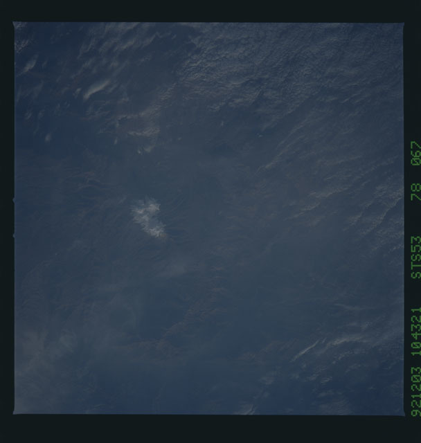 STS053-78-067 - STS-053 - Earth observations