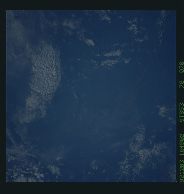 STS053-78-078 - STS-053 - Earth observations