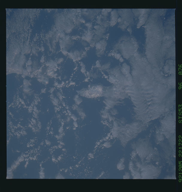 STS053-96-076 - STS-053 - Earth observations