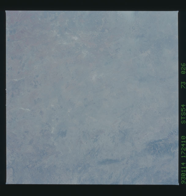 STS054-73-026 - STS-054 - Earth observations from Endeavour, Orbiter Vehicle (OV) 105, during STS-54