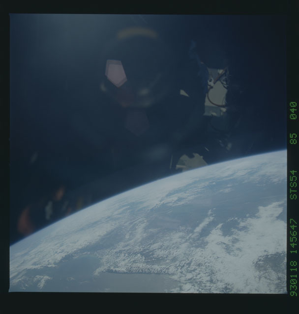 STS054-85-040 - STS-054 - Earth observations from Endeavour, Orbiter Vehicle (OV) 105, during STS-54