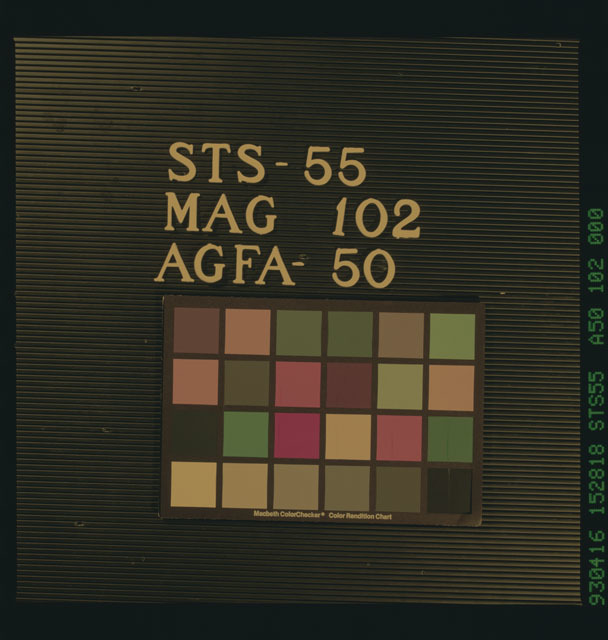 STS055-102-000 - STS-055