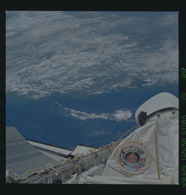 STS055-73-047 - STS-055 - Earth observations taken during STS-55 mission