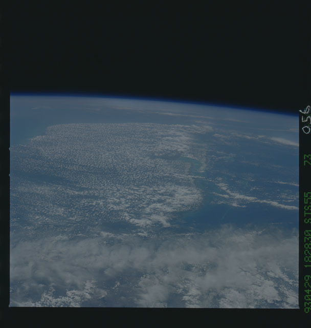 STS055-73-056 - STS-055 - Earth observations taken during STS-55 mission