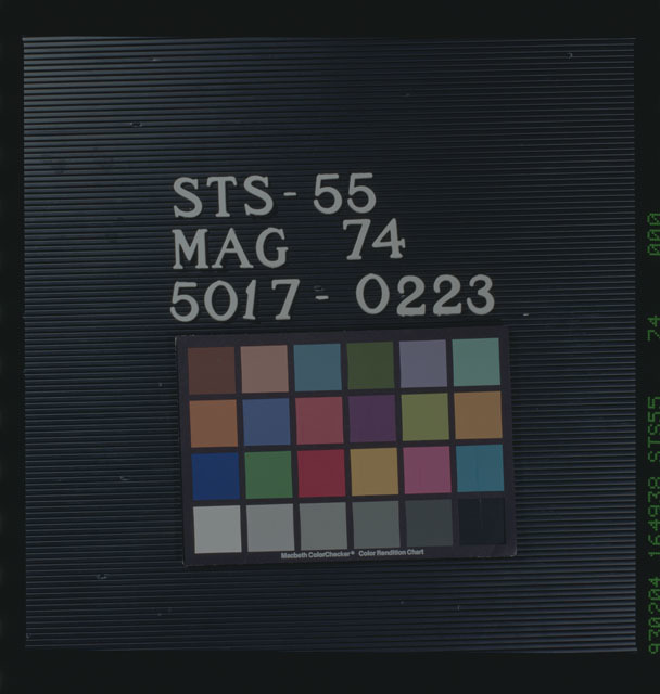 STS055-74-000 - STS-055