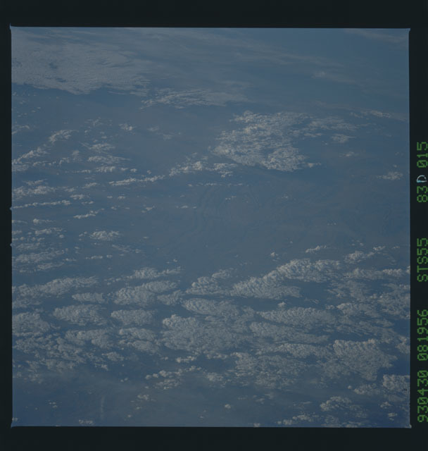 STS055-83D-015 - STS-055 - Earth observations taken during STS-55 mission