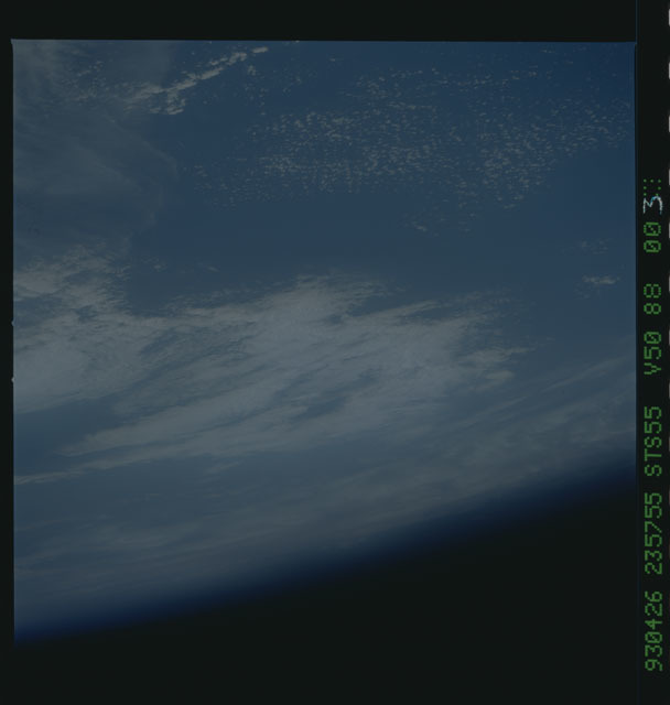 STS055-88-003 - STS-055 - Earth observations taken during STS-55 mission