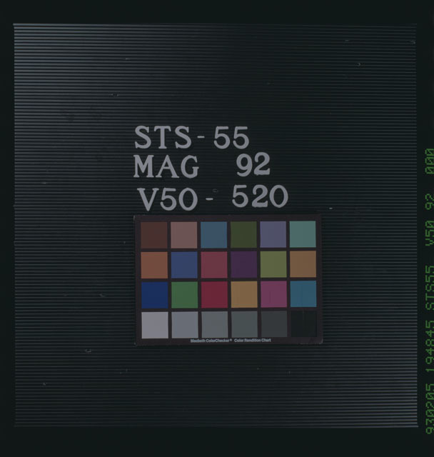 STS055-92-000 - STS-055