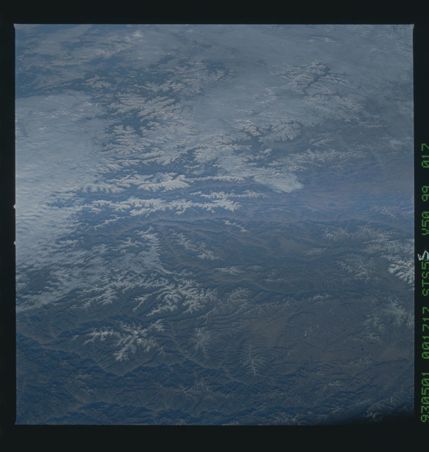 STS055-99-017 - STS-055 - Earth observations taken during STS-55 mission