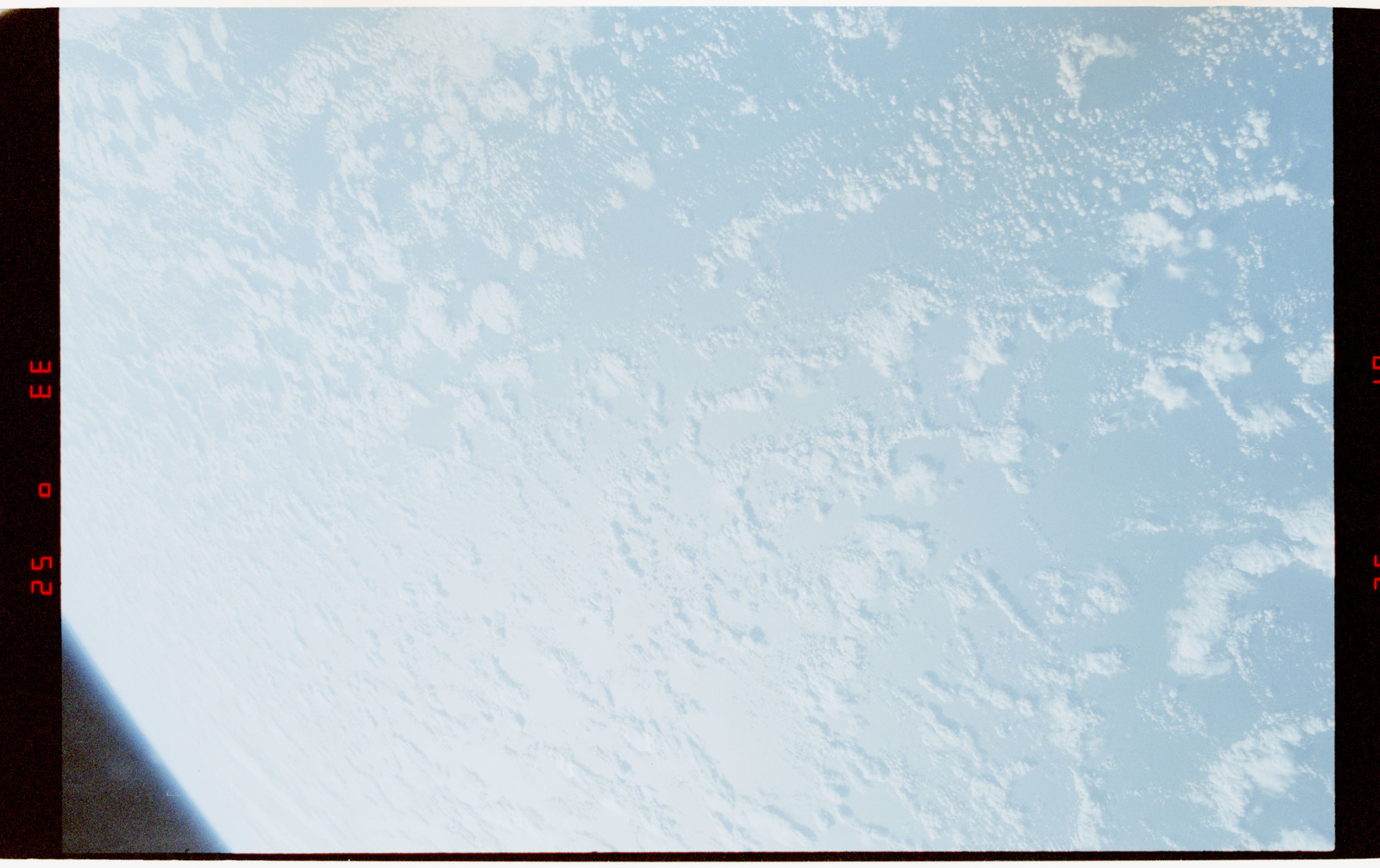 STS056-28-006 - STS-056 - Earth limb, open ocean and clouds - location unknown.