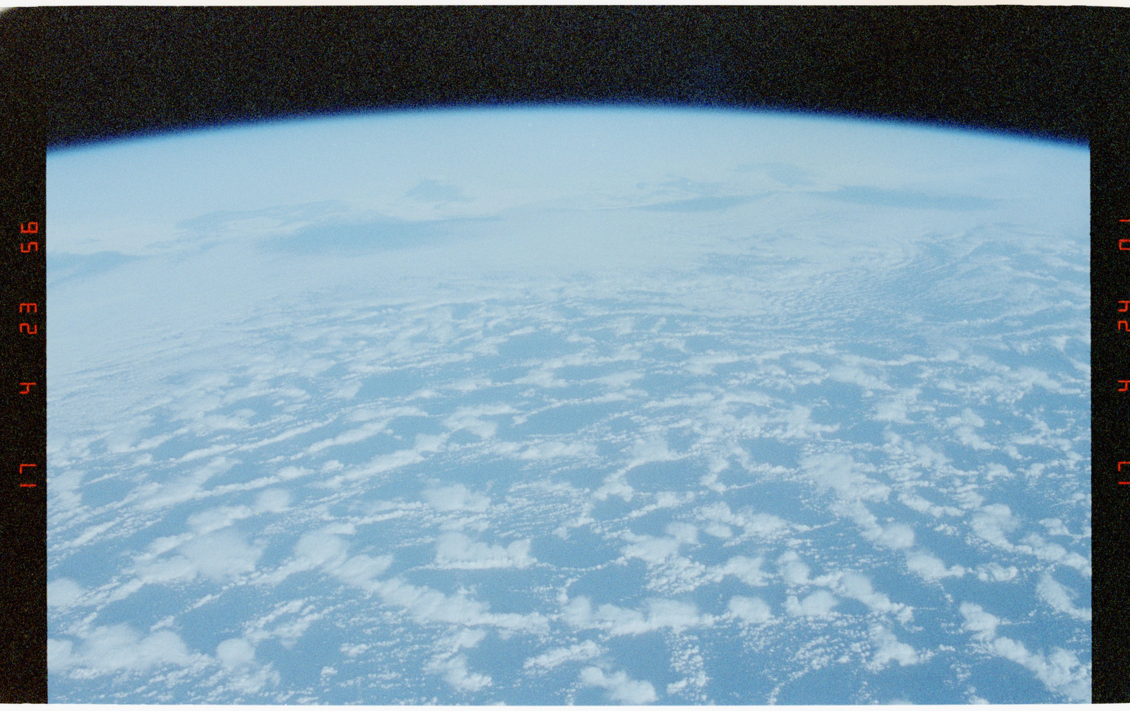 STS056-42-002 - STS-056 - Earth observations views of Earth limb and clouds - locations unknown.