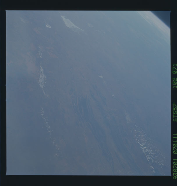 STS057-102-071 - STS-057 - Earth observations taken during STS-57 mission