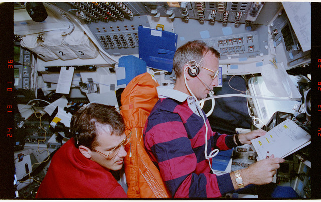 STS057-38-030 - STS-057 - Recovery and docking of the European Space Agency EURECA Satellite.