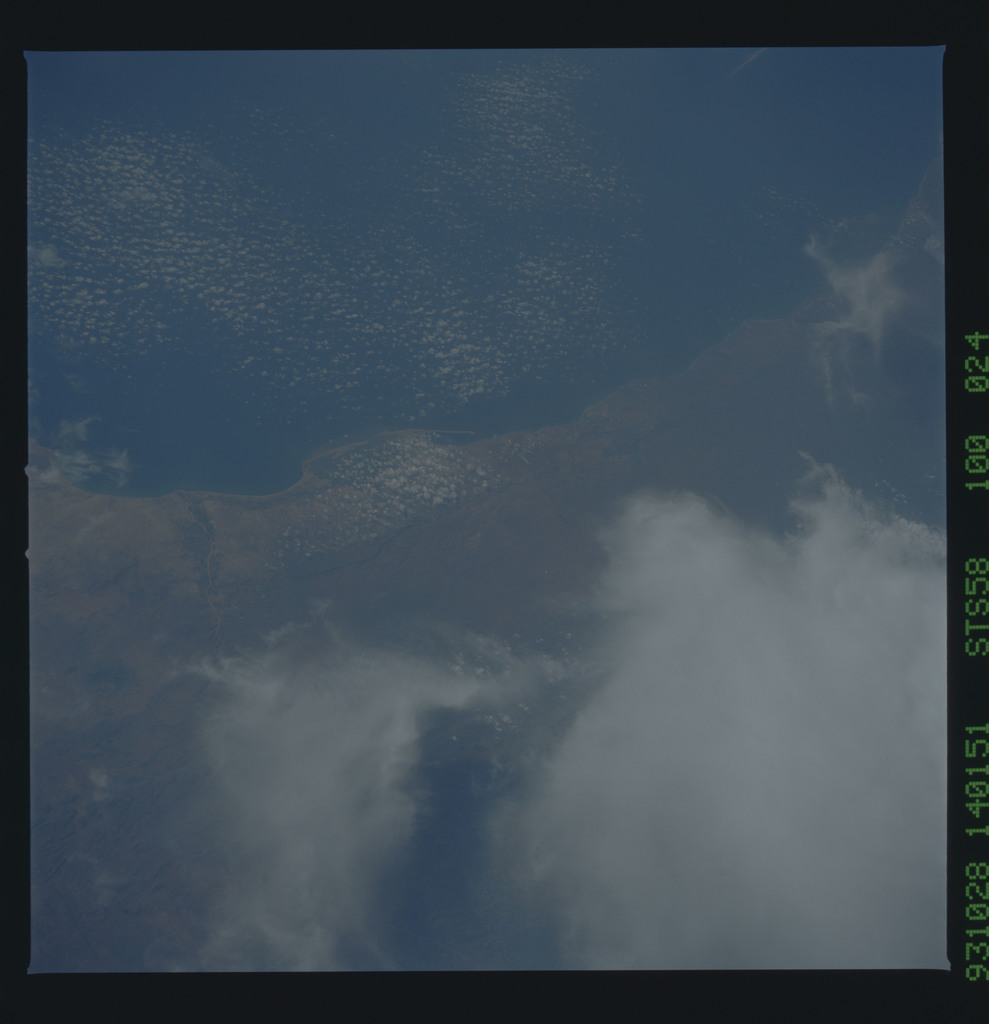 STS058-100-024 - STS-058 - Earth observations during STS-58 mission