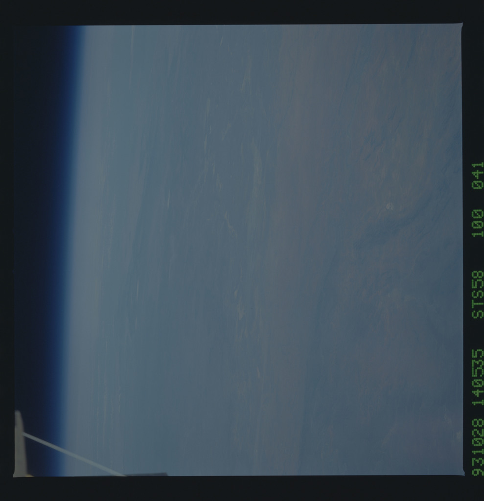 STS058-100-041 - STS-058 - Earth observations during STS-58 mission