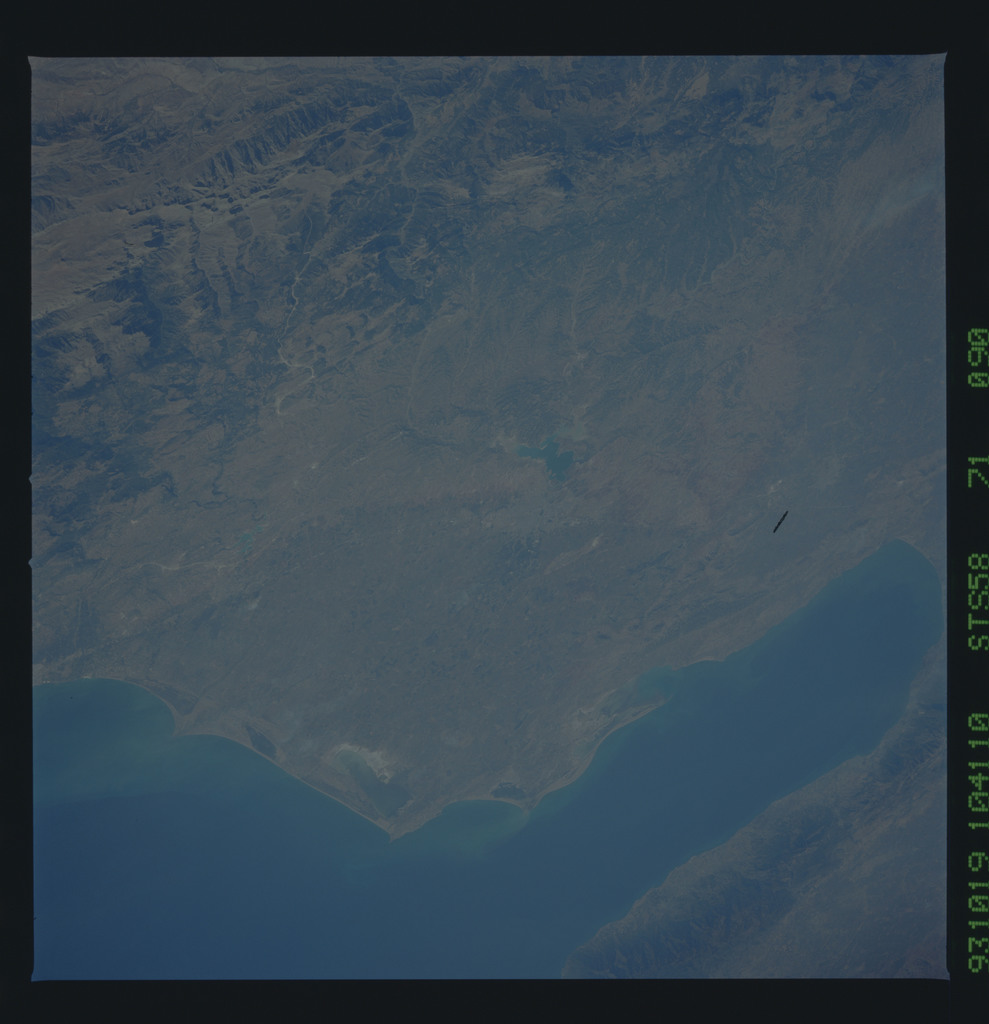 STS058-71-090 - STS-058 - Earth observations during STS-58