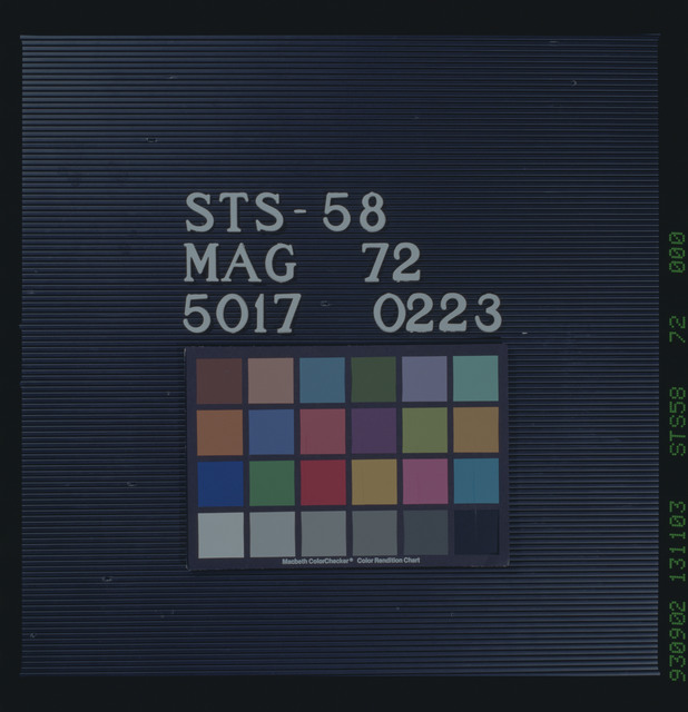STS058-72-000 - STS-058