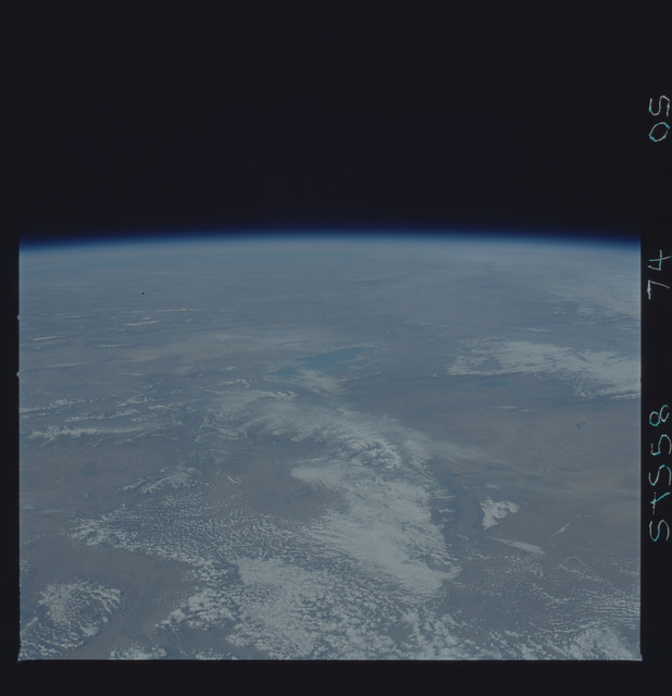 STS058-74-00S - STS-058 - Earth observations during STS-74