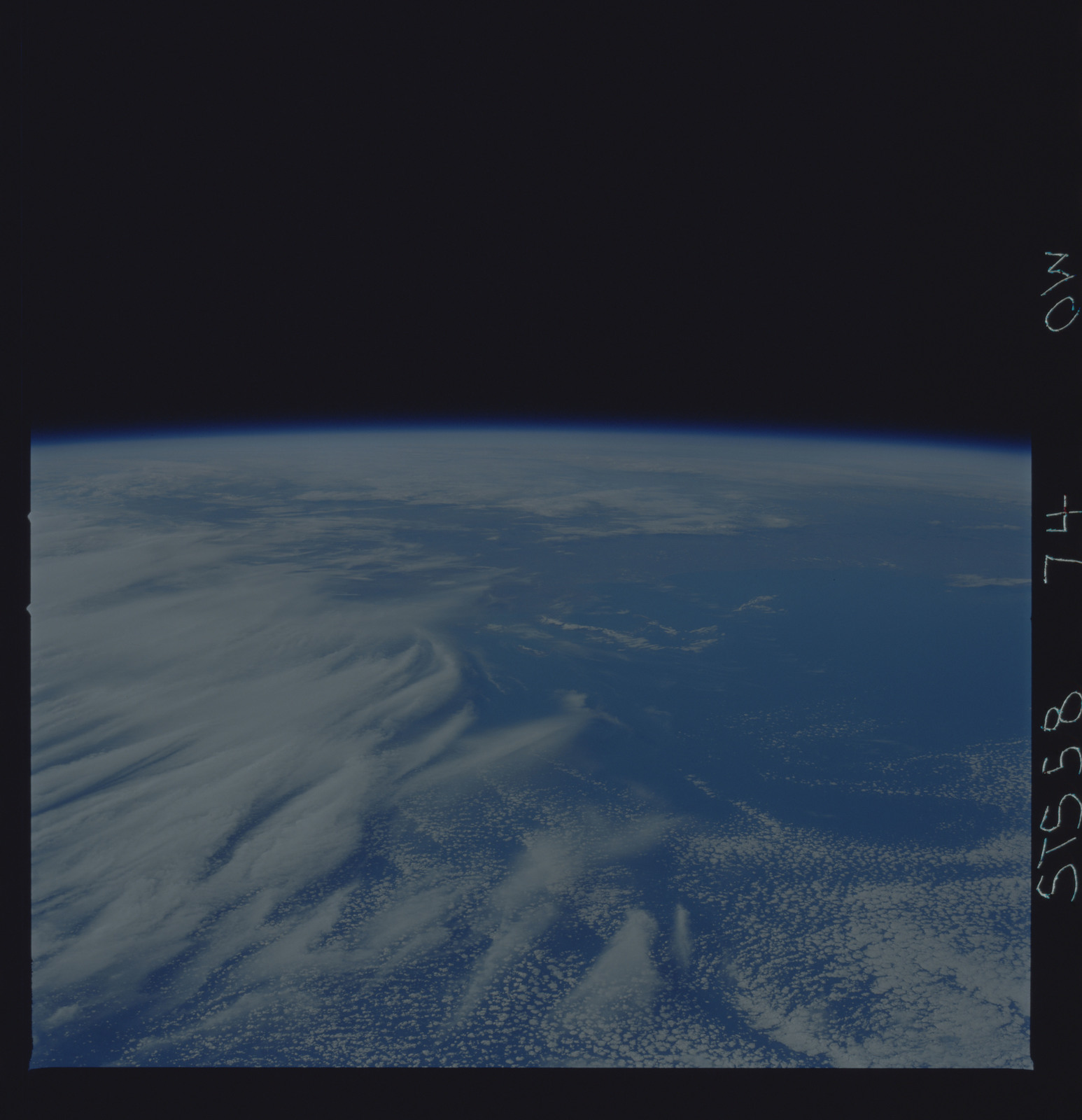 STS058-74-00W - STS-058 - Earth observations during STS-78