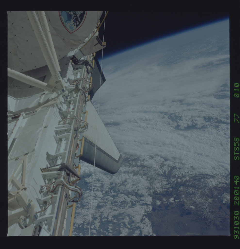 STS058-77-010 - STS-058 - Earth observations during STS-58