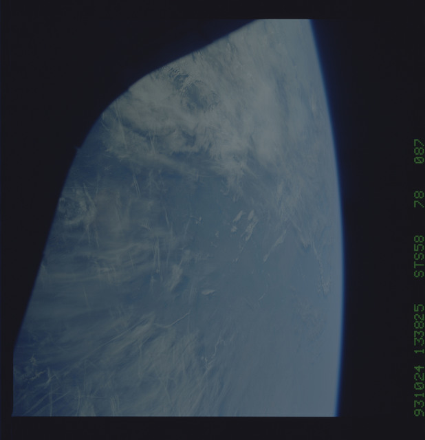 STS058-78-087 - STS-058 - Earth observations during STS-58