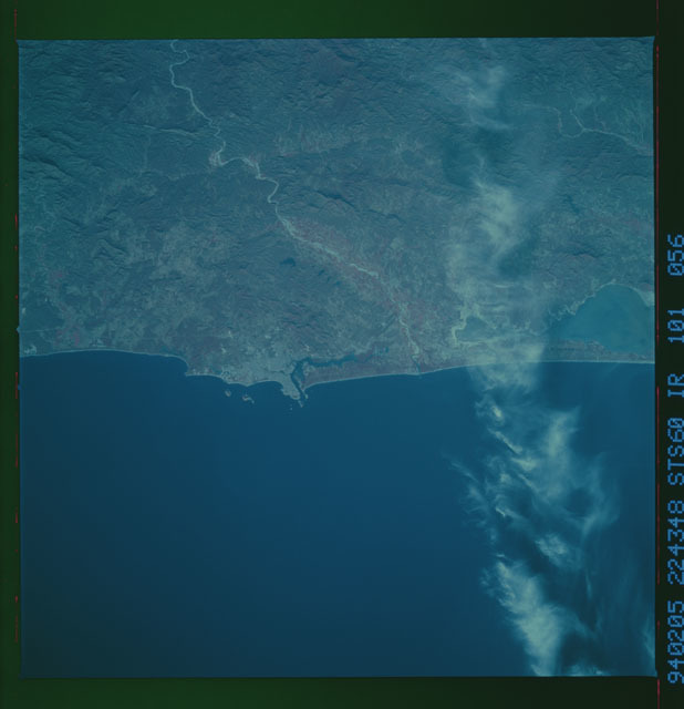 STS060-101-056 - STS-060 - Earth observations during STS-60 flight