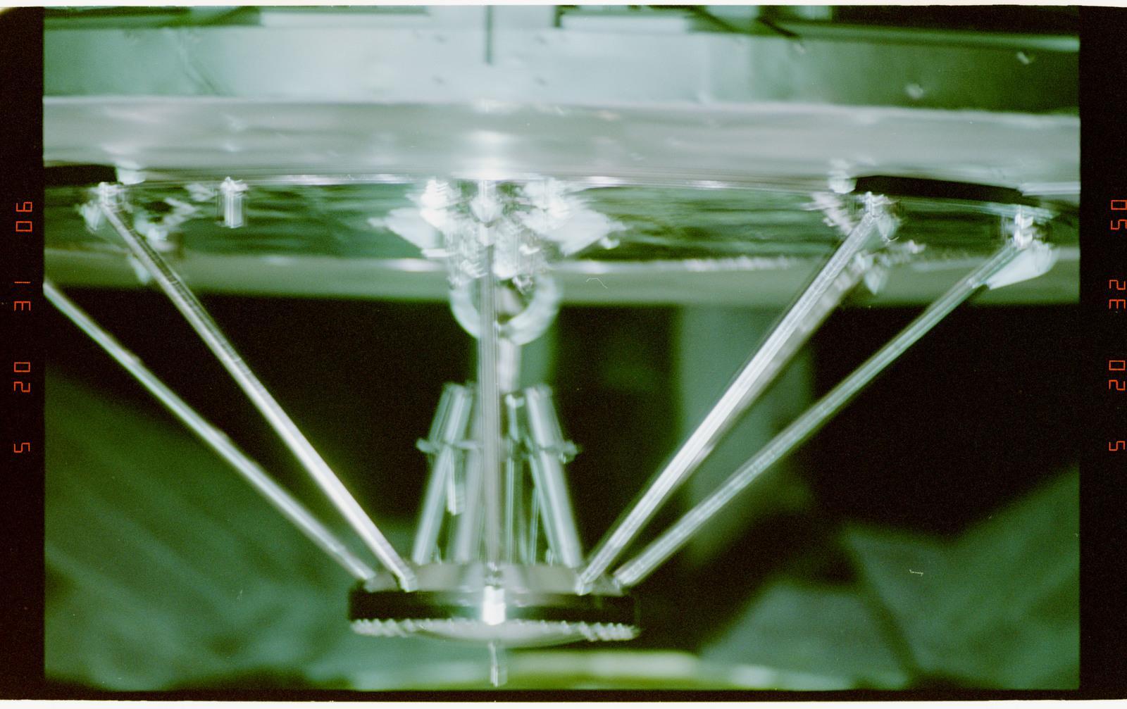 STS060-16-033 - STS-060 - Various close-up views of the Wake Shield Facility (WSF)