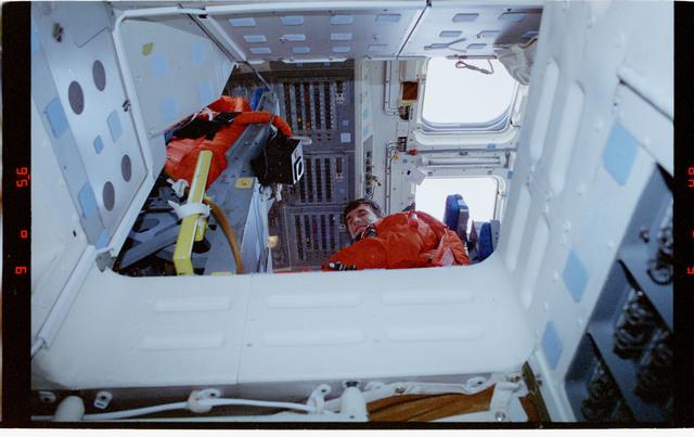 STS060-315-034 - STS-060 - Various views taken post-landing at KSC
