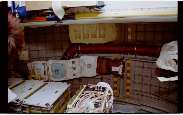 STS060-40-020 - STS-060 - Various views of stowage items in the Spacehab module