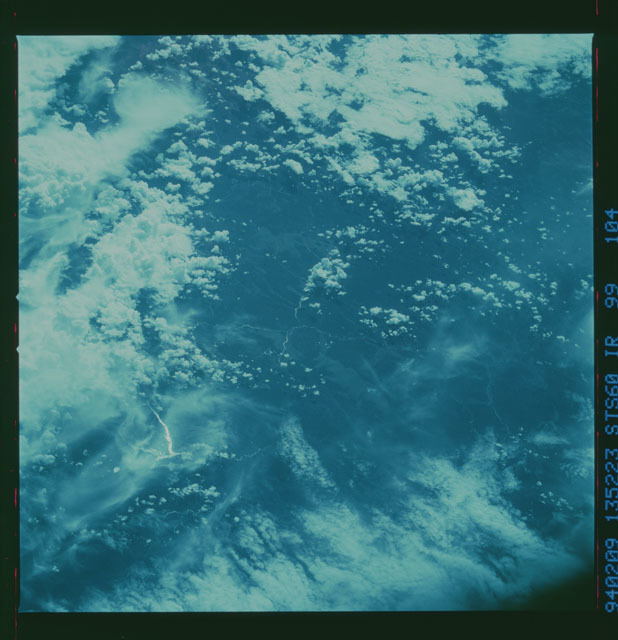 STS060-99-104 - STS-060 - Earth observations during STS-60 mission