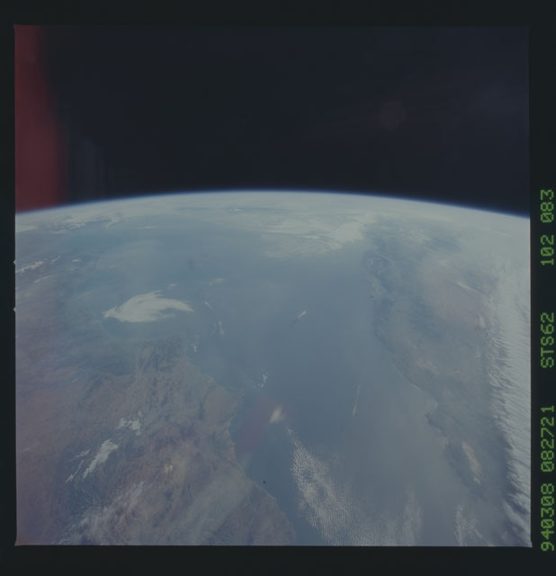 STS062-102-083 - STS-062 - Earth observations from STS-62 flight.