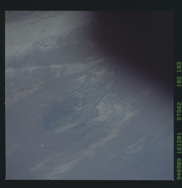 STS062-102-183 - STS-062 - Earth observations from STS-62 flight