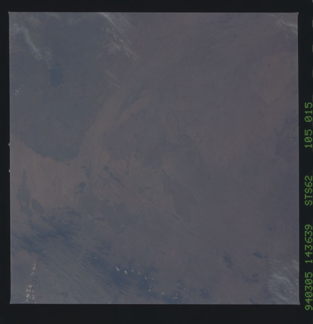 STS062-105-015 - STS-062 - Earth observations from STS-62 flight
