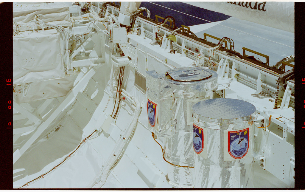 STS062-16-033 - STS-062 - Shuttle Solar Backscatter Ultraviolet (SSBUV) in Columbia's payload bay