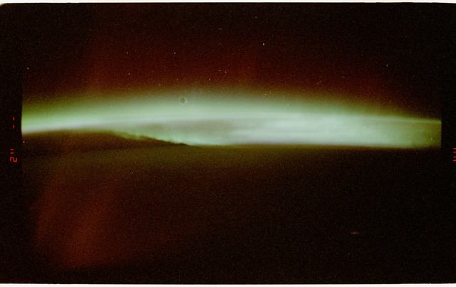 STS062-59-036 - STS-062 - Auroral Photography Experiment-B