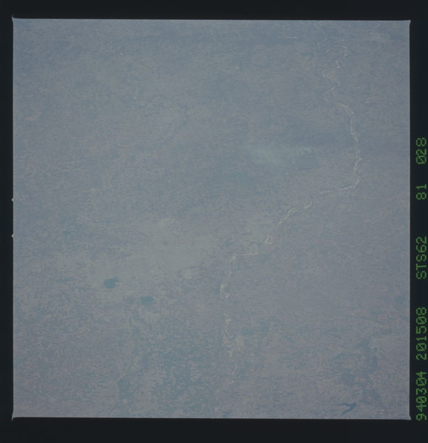 STS062-81-028 - STS-062 - Earth observations from STS-62 flight