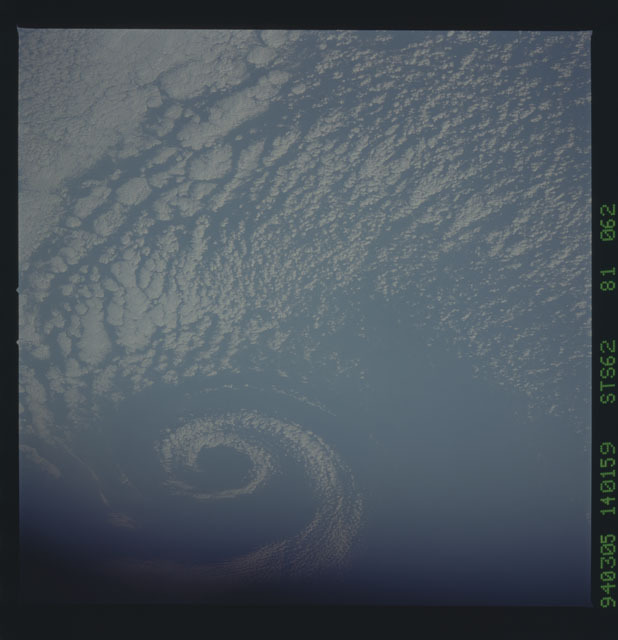 STS062-81-062 - STS-062 - Earth observations from STS-62 flight